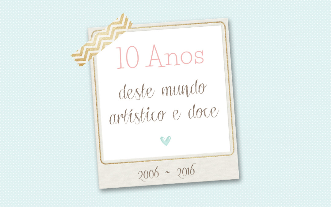 10 Anos no mundo do Cake Design